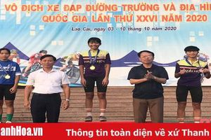 Tay đua nữ 14 tuổi Lê Thị Huyền của Thanh Hóa gây sốc tại giải vô địch xe đạp đường trường và địa hình trẻ quốc gia 2020