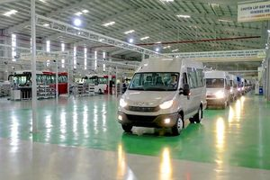 THACO lắp ráp và phân phối thêm thương hiệu Mini Bus IVECO