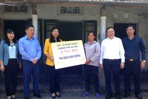 Hỗ trợ xây nhà Đại đoàn kết cho gia đình học sinh nghèo vượt khó