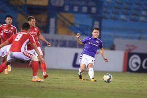 Thắng thành phố Hồ Chí Minh 2-0, Hà Nội FC tiếp tục bám đuổi các đội đầu bảng