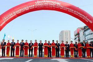 Chính thức thông xe cầu cạn Mai Dịch - Nam Thăng Long