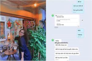 Nhắn tin 'cầu cứu' bố mẹ, bạn gái cũ Quang Hải khiến CĐM chú ý