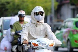 Tia cực tím tại Hà Nội, TP.HCM, Nha Trang và Cần Thơ ở mức rất cao