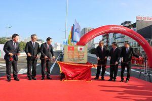 Khánh thành dự án Đầu tư xây dựng cầu cạn đoạn Mai Dịch - Nam Thăng Long