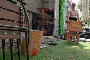 Truy tố người thuê kẻ khác tạt sơn vào quán cà phê ở quận 7
