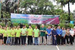 VWS trồng cây xanh và hoa dọc nhiều tuyến đường ở Đa Phước