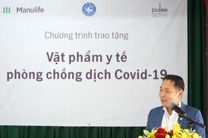 Manulife Việt Nam góp gần 3.5 tỷ đồng cho tuyến đầu chống dịch