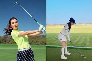 Cú swing thần thái của mỹ nhân làng golf Việt khiến nhiều người phát hờn