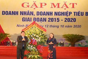 Ninh Bình gặp mặt doanh nhân, doanh nghiệp tiêu biểu giai đoạn 2015-2020
