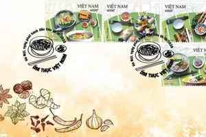 Quảng bá 4 món ngon Hà thành trên bộ tem Ẩm thực Việt Nam 2020