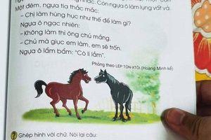SGK Tiếng Việt nhiều 'sạn': 'Bộ GD&ĐT cần giải đáp'