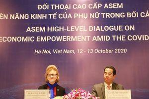 Thúc đẩy quyền năng kinh tế của phụ nữ Á - Âu trong bối cảnh đại dịch COVID-19 toàn cầu