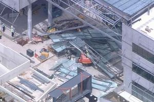 Tòa nhà của trường đại học Úc sập xuống bất ngờ: Có người thiệt mạng, bị thương và mắc kẹt