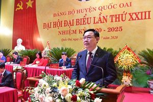 Đồng chí Vương Đình Huệ được bầu làm Bí thư Thành ủy Hà Nội khóa XVII với 100% số phiếu