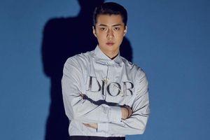Sehun trở thành gương mặt mới của Dior