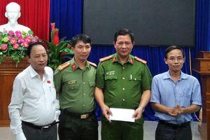 Khen thưởng CAH Phú Ninh về thành tích phá án