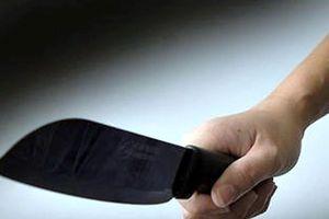 Bị chặt mất cành cây đào, người đàn ông cầm dao chém vào cổ hàng xóm