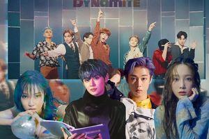 BTS xứng danh nhóm nhạc toàn cầu khi Dynamite ngoài nước dẫn đầu BXH quốc tế, trong nước được loạt idol thi nhau cover