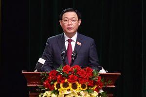 Chân dung Bí thư Thành ủy Hà Nội Vương Đình Huệ