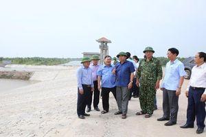 Chủ tịch Ninh Bình kiểm tra công tác phòng chống cơn bão số 7