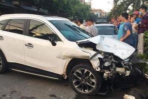 Khởi tố vụ án 'thiếu gia' không giấy phép, say rượu lái CX5 gây tai nạn liên hoàn
