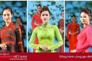 Mẫu áo dài thanh lịch, sang trọng, ứng dụng cao của NTK Vũ Thảo Giang