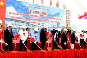 Lào Cai: Khởi công cây cầu thứ 8 bắc qua sông Hồng