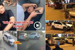 Toàn cảnh vụ TNGT liên hoàn của 'thiếu gia' 18 tuổi say rượu lái CX5 tại Thị xã Sơn Tây
