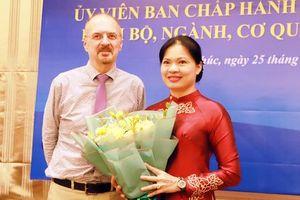 28 năm gắn bó với Việt Nam và ước nguyện thúc đẩy phụ nữ tham chính