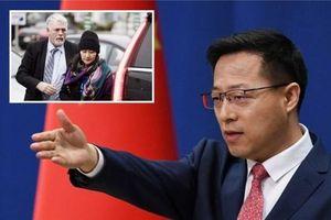 Trung Quốc hối thúc Canada thả bà Mạnh Vãn Chu để đưa quan hệ hai nước về quỹ đạo
