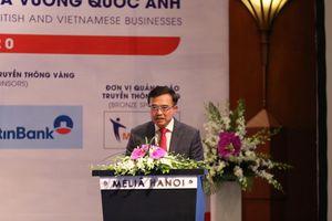 Tìm cơ hội cho doanh nghiệp Việt Nam và Vương quốc Anh sau dịch COVID-19