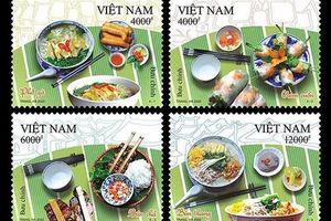 Phát hành bộ tem 'Ẩm thực Việt Nam'
