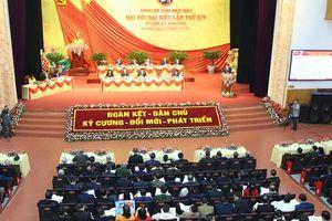 Khai mạc Đại hội đại biểu Đảng bộ tỉnh Điện Biên lần thứ XIV