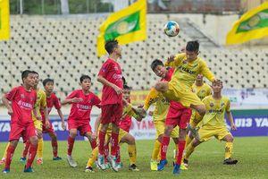 U13 Sông Lam Nghệ An sẽ đối đầu U13 Hải Dương tại trận chung kết