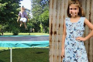 Cô bé 8 tuổi bị phạt nhảy liên tục trên bạt lò xo, không được ăn uống đến tận lúc ngã gục