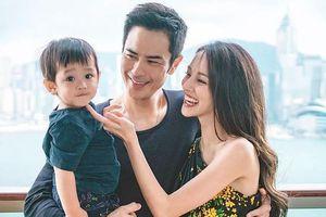 Hoa hậu Trần Khải Lâm tạm ngừng đóng phim để chăm con