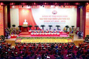 Khai mạc Đại hội Đảng bộ tỉnh Bình Định lần thứ 20