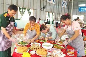 Hội phụ nữ Công ty 72 tổ chức Hội thi 'Mâm cơm đoàn kết'