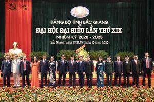 Chi tiết Ban Thường vụ Tỉnh ủy Bắc Giang khóa mới