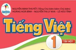 Sách Tiếng Việt lớp 1 của bộ sách Cánh Diều nhiều 'sạn', có nên thay?