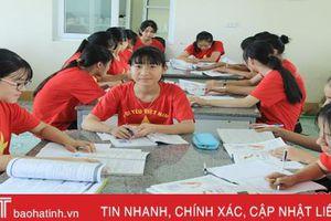 Đam mê Truyện Kiều, cô trò nhỏ Hà Tĩnh giành giải nhất cuộc thi về Đại thi hào Nguyễn Du