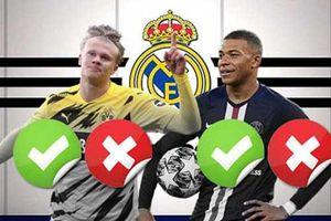 Real Madrid sẽ chọn Mbappe hay Haaland vào kỳ chuyển nhượng tới