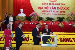 Hà Tĩnh: Công bố danh sách 53 Ủy viên Ban Chấp hành Đảng bộ khóa XIX