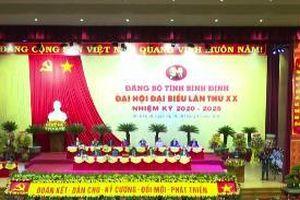 Khai mạc Đại hội Đảng bộ tỉnh Bình Định lần thứ XX