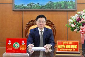 Bí thư Huyện ủy Bình Xuyên Nguyễn Minh Trung được bầu vào Ban Chấp hành Đảng bộ tỉnh Vĩnh Phúc lần thứ XVII nhiệm kỳ 2020 - 2025