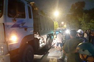 Thanh niên tránh ổ gà bị xe ben cán tử vong ở Bình Chánh