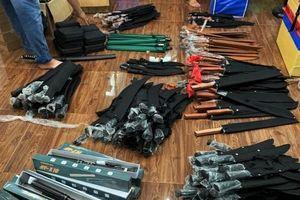 Phát hiện cả kho vũ khí 'khủng' tại TP.HCM: Tạm giữ 1 đối tượng để điều tra