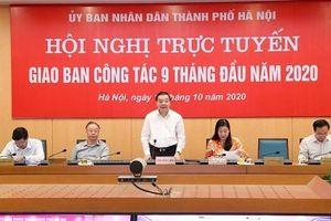 Chủ tịch UBND TP Hà Nội Chu Ngọc Anh: Đôn đốc, bắt tay ngay vào xây dựng kế hoạch phát triển kinh tế-xã hội