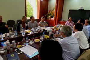 Lãnh đạo VPA làm việc tại Chi hội Dầu khí Thái Bình