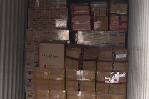Phát hiện lượng lớn hàng hóa nhập lậu tại Cảng Cát Lái